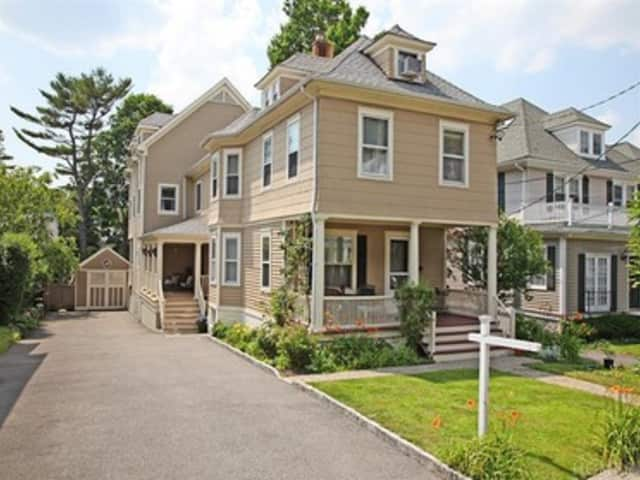 This house at 237 Purchase St. in Rye is open for viewing this Sunday.