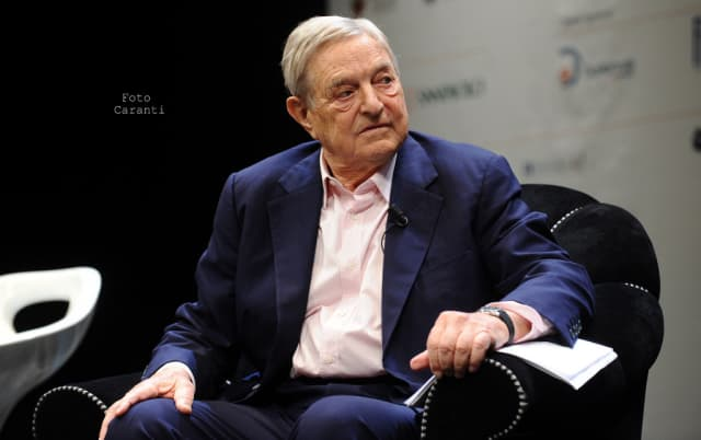 Bedford resident George Soros is getting married this weekend at his estate.