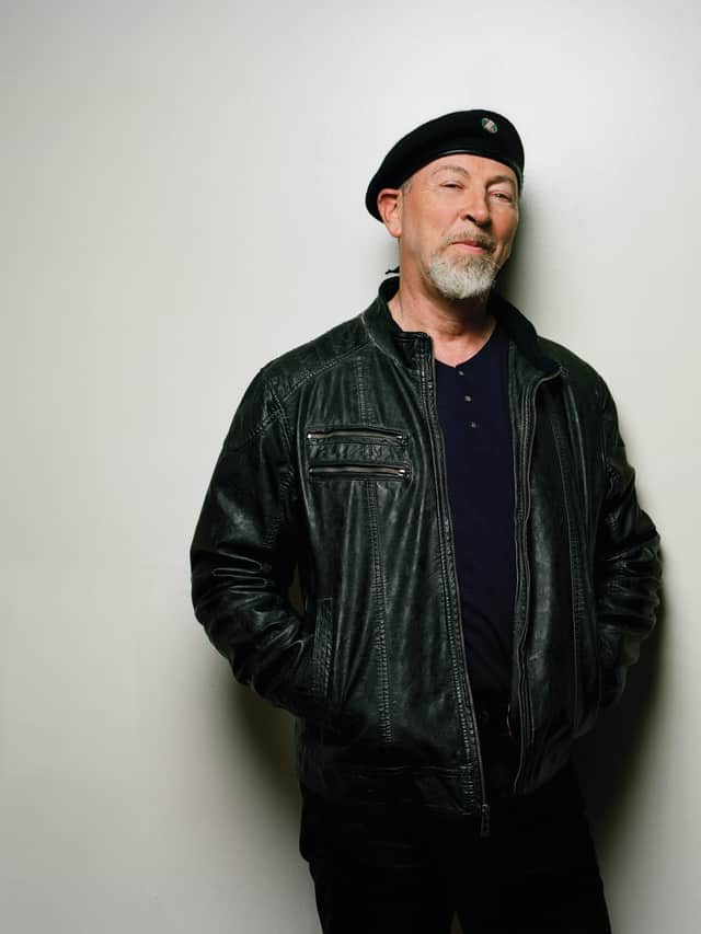 Guitar player and singer/songwriter Richard Thompson will perform Oct. 2 at The Ridgefield Playhouse.