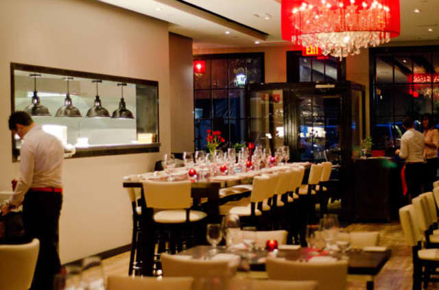 Bianco Rosso Wine Bar and Restaurant is located at 151 Old RIdgefield Road in Wilton.