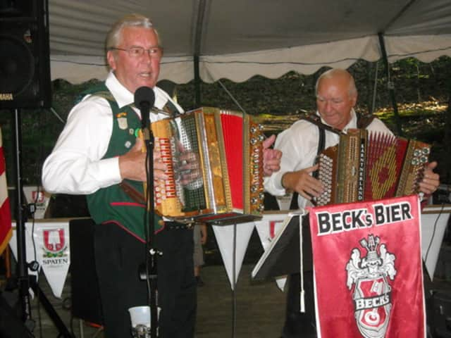 What would an Oktoberfest celebration be without traditional oom-pah band music?