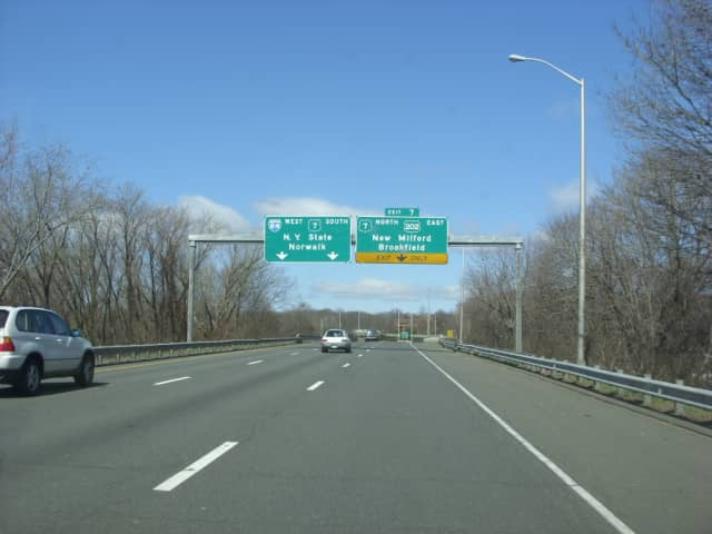 Interstate 84 is open again at the border.