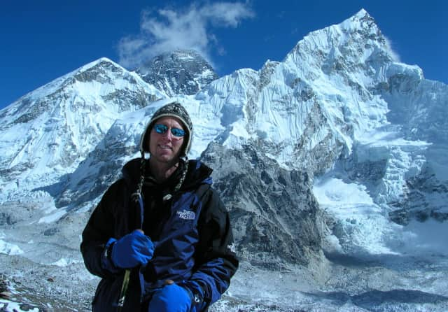 Westport's David Schachne recently published a book on his 2004 hiking excursion in The Himalayas.