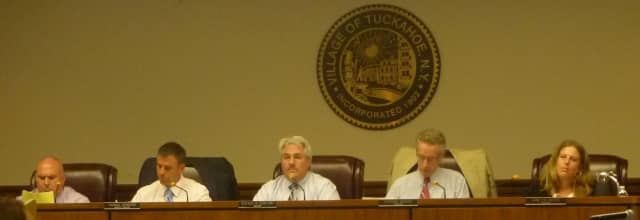 The Tuckahoe Board of Trustees voted down the proposed plastic bag ban.