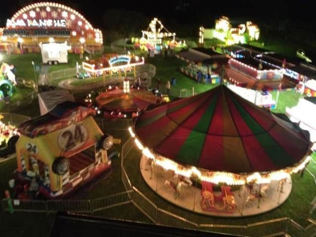 The Ridgefield Recreation Center, located at 195 Danbury Road, will host the Chamber of Commerce's carnival.