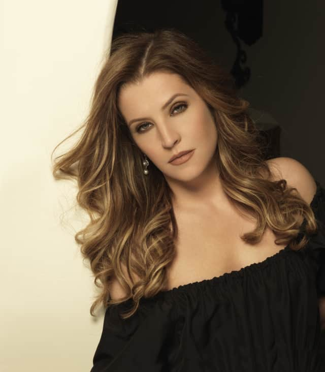 Lisa Marie Presley will make her debut at the Ridgefield Playhouse Oct. 11.