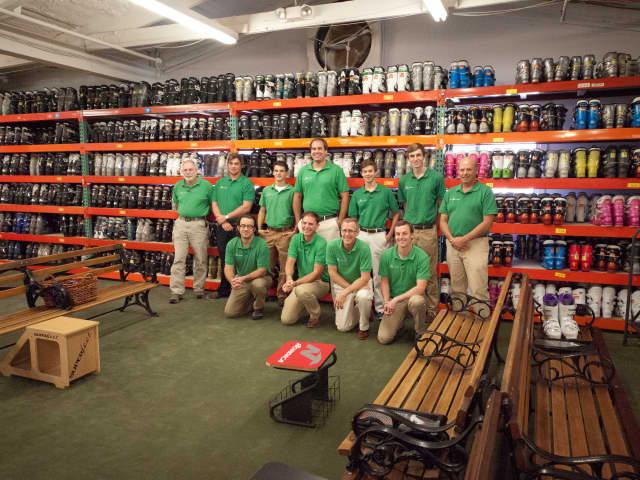 Outdoor Sports Center's 2013 rental staff