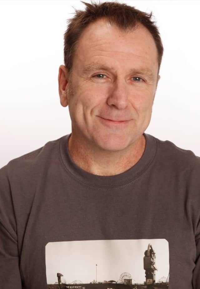 Colin Quinn's one man show comes to Ridgefield Playhouse.
