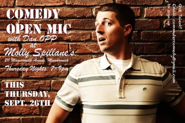 Molly Spillane's will hold a comedy open mic night on Thursday.