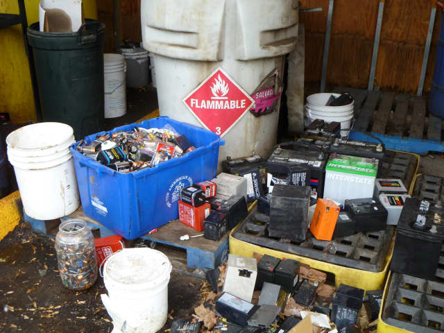 Get rid of your household hazardous waste Saturday in Newtown