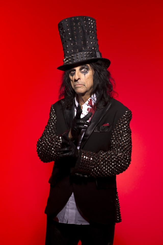 Alice Cooper to play the Capitol Theatre in Port Chester.