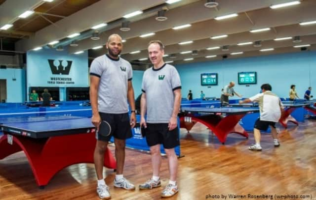 Westchester Table Tennis Center is hosting a tournament on Oct. 5 in Pleasantville. The center is managed by Robert Roberts and owned by Will Shortz.