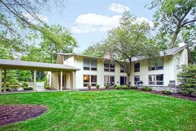This house at 78 Marlborough Road in Briarcliff Manor is open for viewing this Sunday.