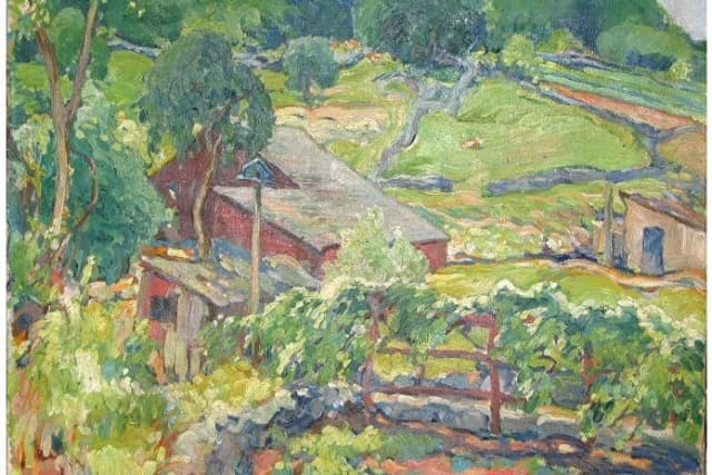 The New Canaan Historical Society will host a lecture about noted Silvermine artist Charles Reiffel.