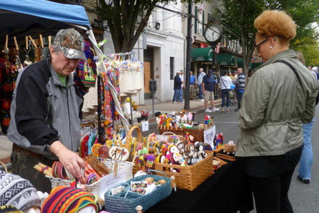 Last year's Dobbs Ferry Festa drew more than 1,000 people to th village downtown streets.