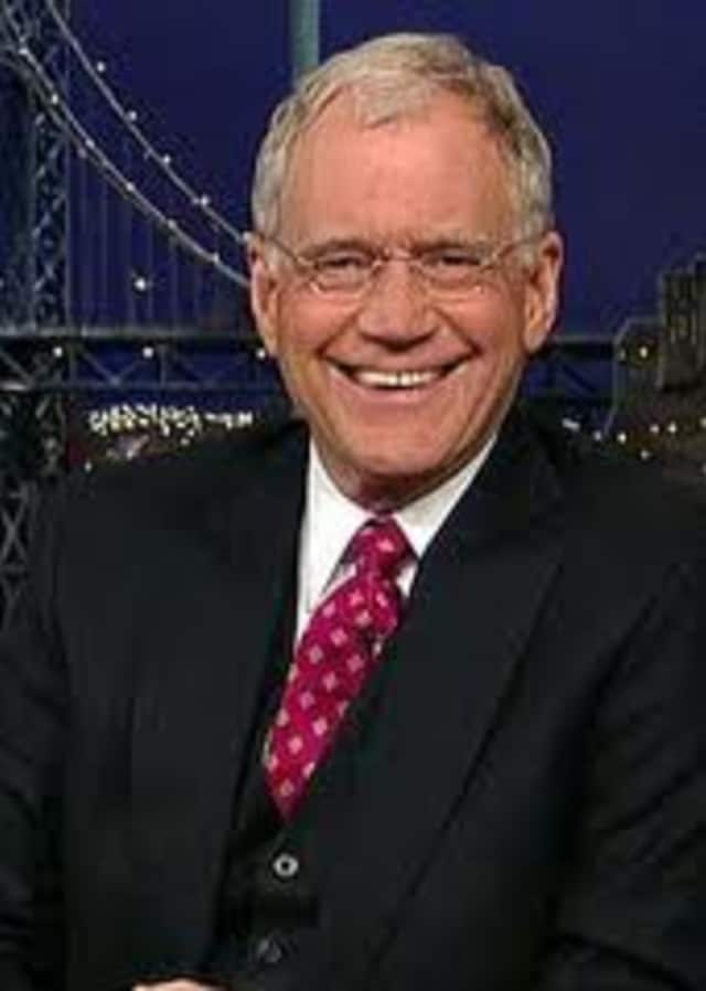 David Letterman is now tied for second in salary among late-night TV show hosts