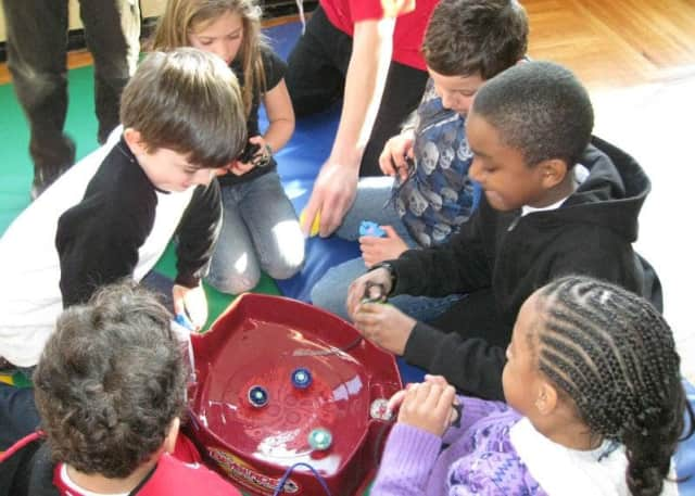 Youngsters 5-12 are welcome to play in the Tarrytown's JCC On the Hudson's Beyblade Tournament.