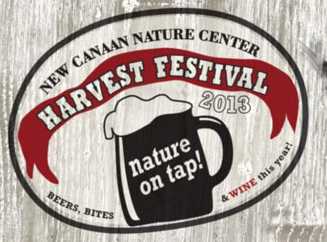 Try local beers and wines at the New Canaan Nature Center Harvest Festival on Saturday.