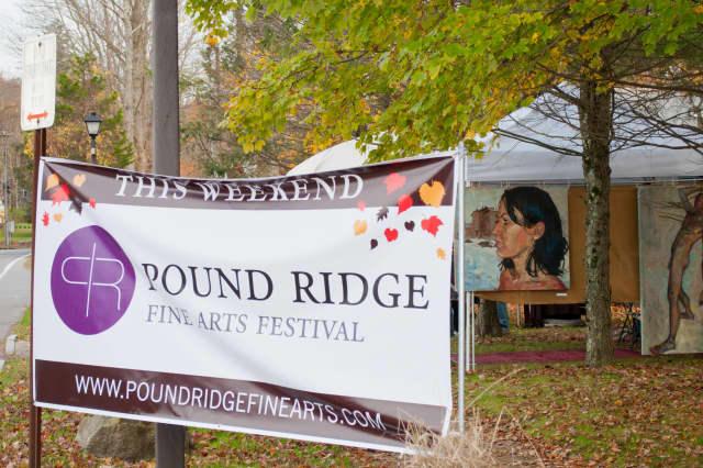 The Pound Ridge Fine Arts Festival comes to town Oct. 5-6.