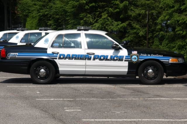 The Darien Police Department arrested a man on a Vespa who ran two red lights.