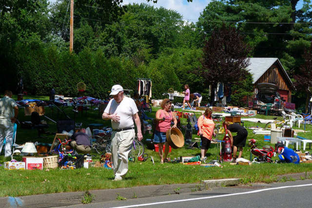 Hastings will be bustling with bargain hunters at Saturday's Village Wide Tag Sale.
