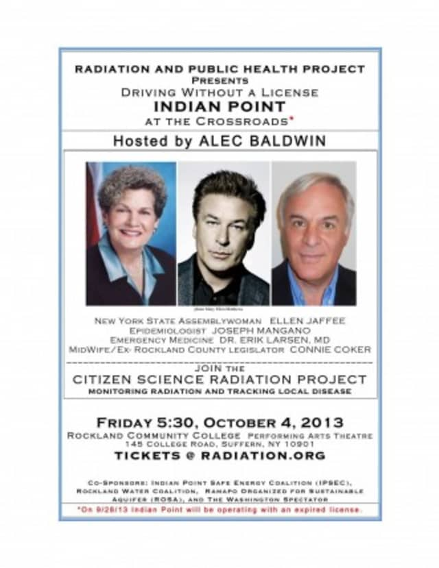There will be a panel discussion about Indian Point tonight in Suffern.