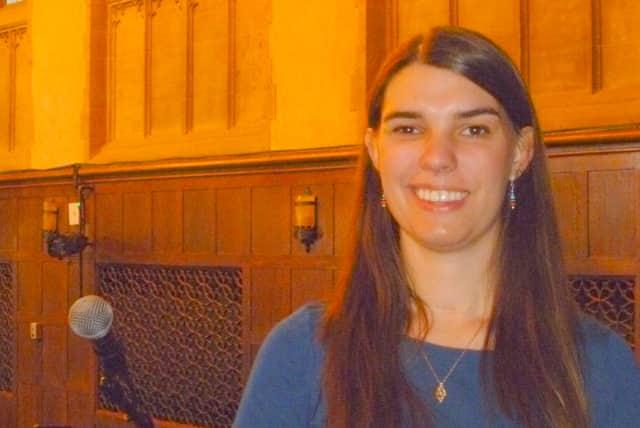 Motivational speaker Jacy Good will speak at the Mount Kisco Library on Monday, Oct. 7.