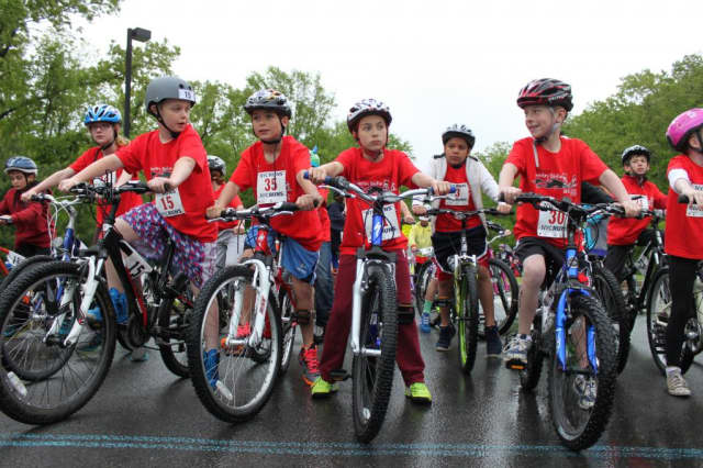 The Bedford Central School District's Elementary BikeRun, pictured during a previous year.