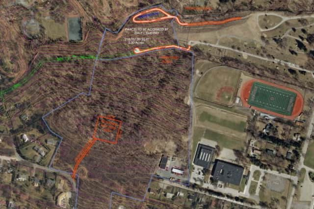 The Town of Ossining an the Ossining Union Free School District are exploring the possible sale of land to the Chinese community for burial plots.
