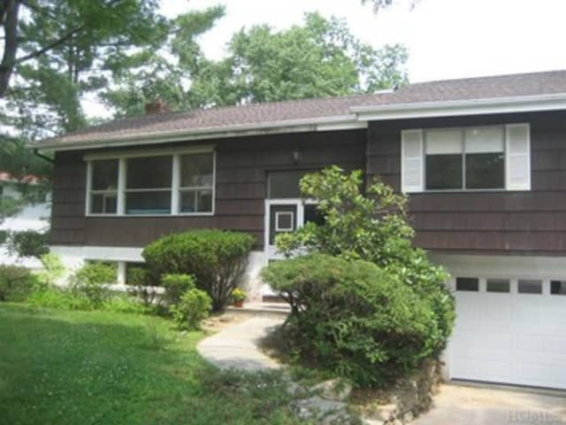 This house at 61 Hickory Road in Briarcliff Manor is open for viewing on Sunday.