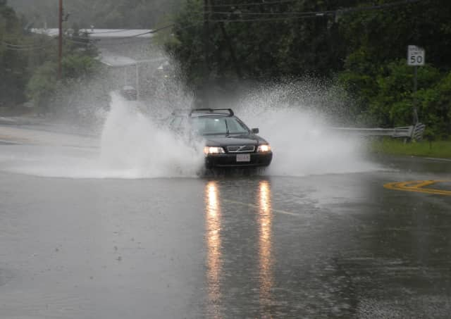 Heavy rains are predicted for Tuesday throughout the Fairfield County area.