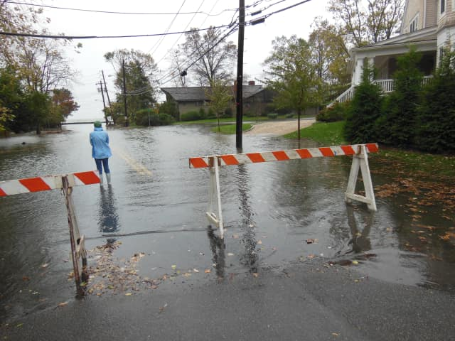 High tides and high winds could combine to cause coastal flooding in Southern Westchester County, according to the National Weather Service.