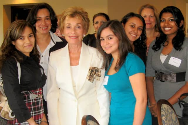 Judge Judy funds Her Honor Mentoring program, developed by her daughter Nicole Sheindlin, for students in Mount Vernon, White Plains and Mamaroneck.