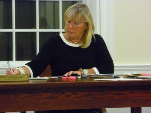 Boo Boo Fumagalli is looking to be reelected as Bedford Town Clerk.