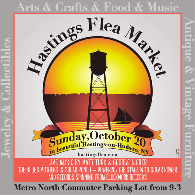 A new venture, the Hastings Flea, will open on Sunday, Oct. 20 at the Hastings Train Station plaza.