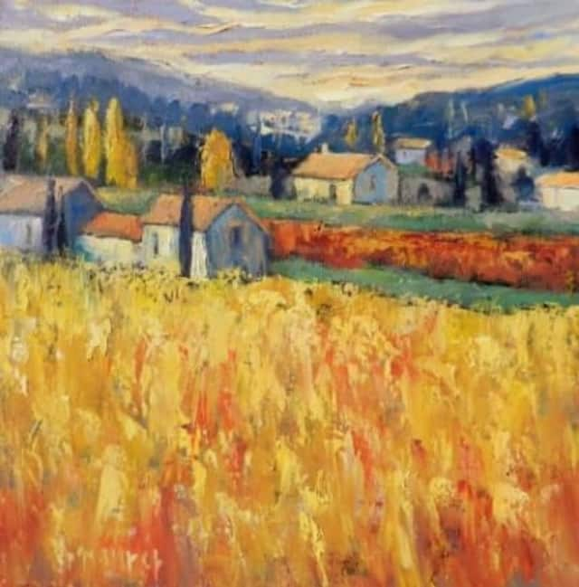 """""""A World of Color—Paintings by John Maurer"""" opens on Friday, Oct. 11 at the Wilton Library."""
