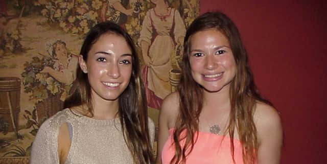 Harrison High School seniors Hallie Gersten and Marisa Goldstein recently received Students Of the Month honors from the Harrison-Mamaroneck Rotary Club.