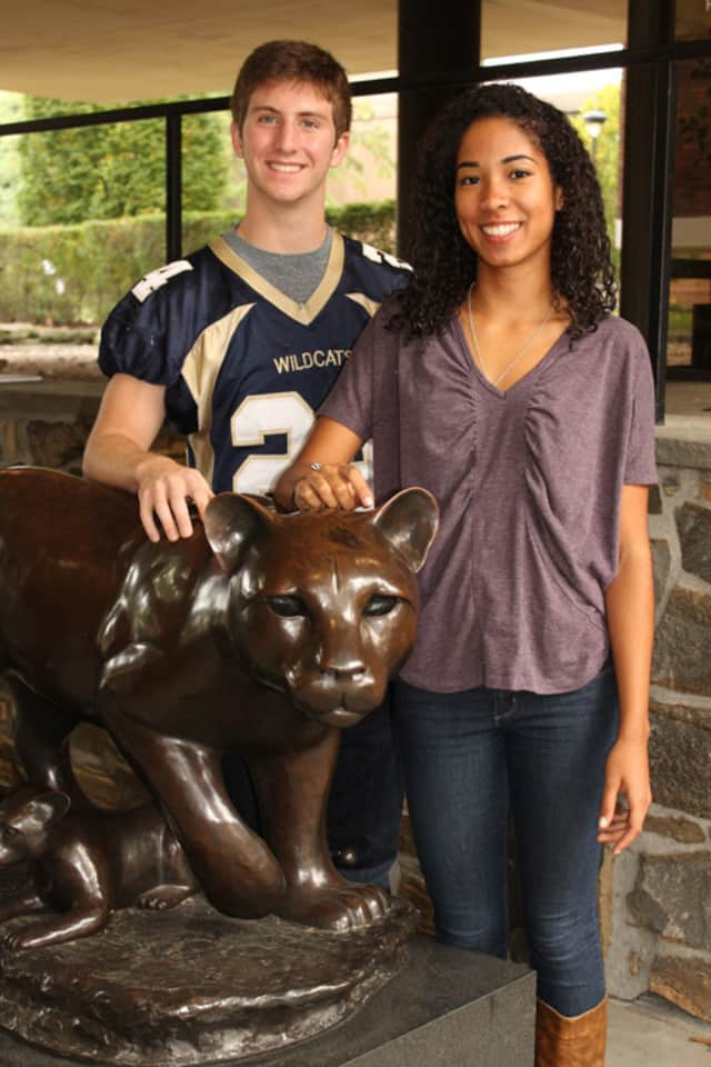 Dylan Bronson and Franchesca Pena from Rye Country Day School were named 2013-14 National Hispanic Recognition Program scholars.