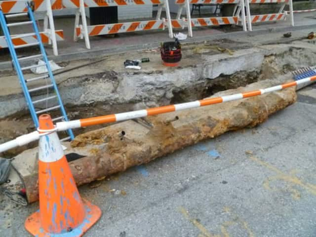 The final phase of a gas line project will have Warburton Avenue closed on Monday and Main Street closed on Tuesday.