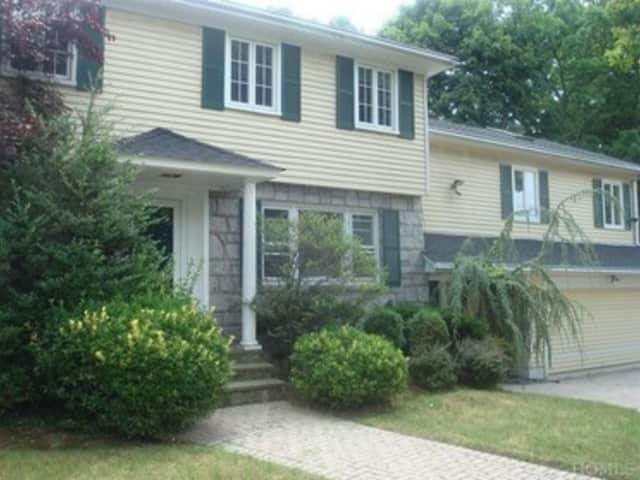 This house at 203 Crestwood Avenue in Tuckahoe is open for viewing this Sunday.