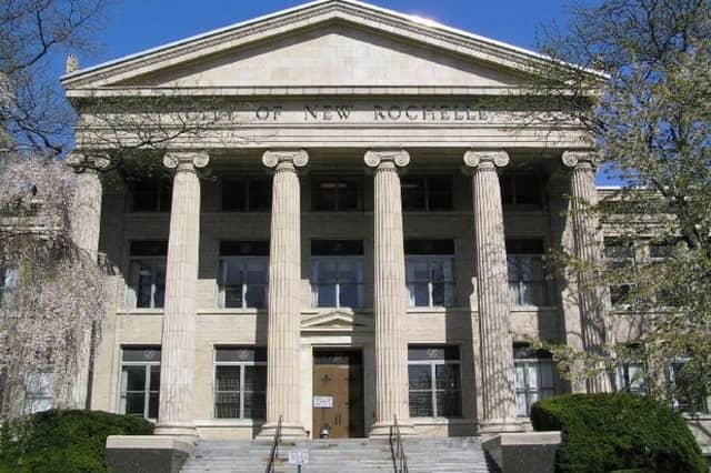 New Rochelle City Hall.