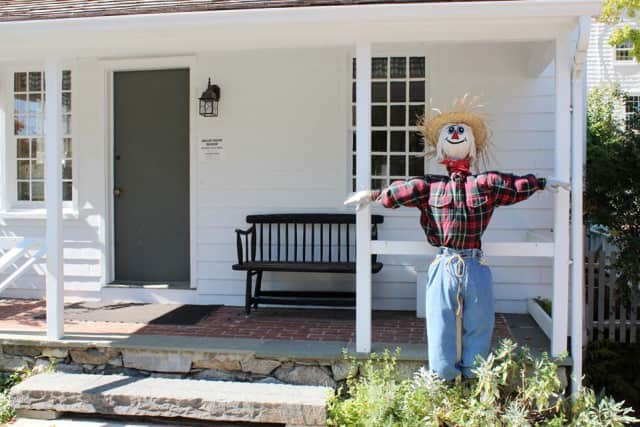 Ridgefield's Keeler Tavern Museum is hosting a scarecrow making contest and scavenger hunt.