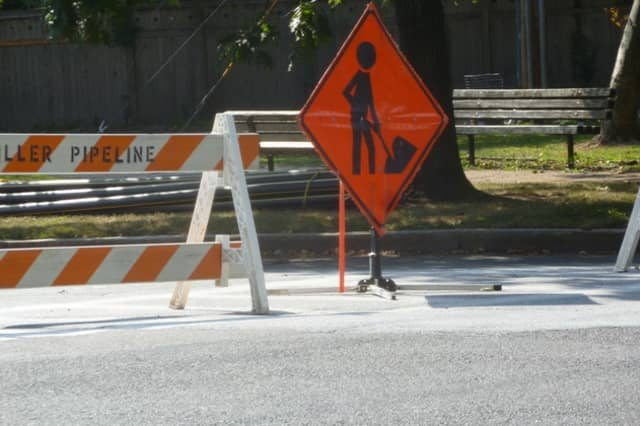 Paving on Warburton Avenue in Hastings-on-Hudson will cause some parking restrictions Monday.
