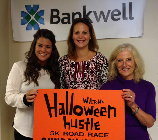 From left to right are Chamber Executive Director, Janeen Leppert; Bankwell First Vice President and Director of Cash Management, Shelly Hirn; and Chamber Vice President of Program Development, Karen Strickland.