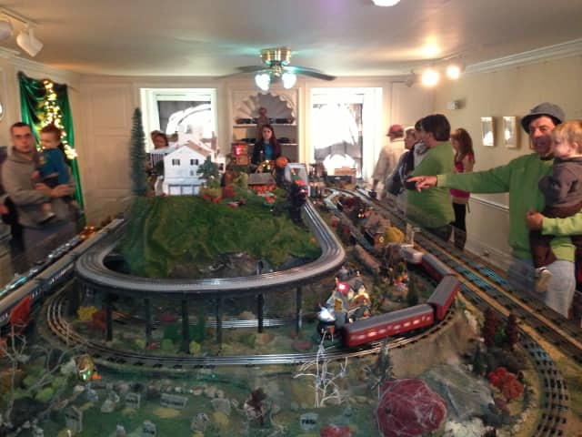 Lasdon Park is playing host to the annual Halloween Train Show.
