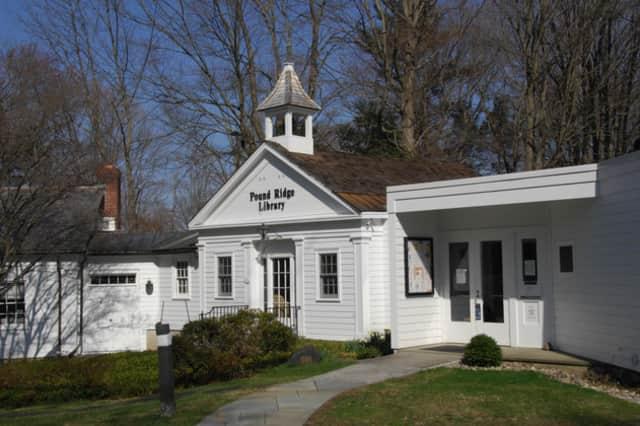 The Pound Ridge Library.