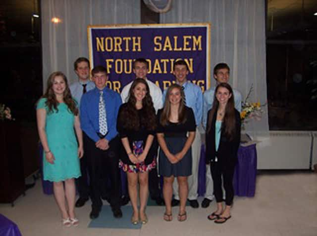 The North Salem Foundation for Learning Academic Scholars, pictured here from 2011, is just one of the foundations initiatives.