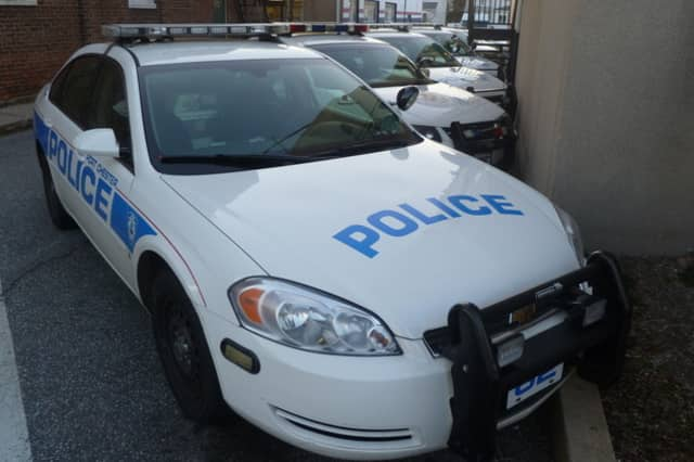 Port Chester Police are reportedly searching for a man who hit as many as eight parked cars in a parking lot.