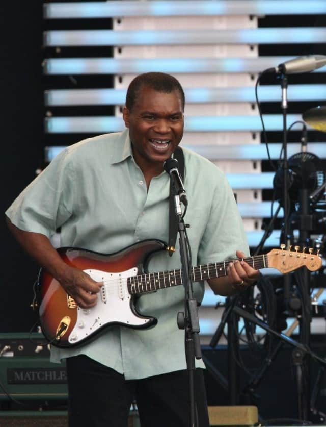 Blues Hall of Famer Robert Cray and his band will perform in Ridgefield on Sunday.