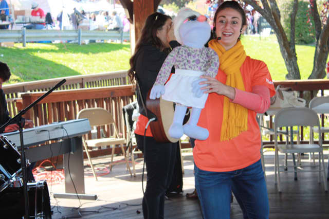 Kidville Mount Kisco was one of the featured events at the Yorktown Festival & Street Fair on Sunday.